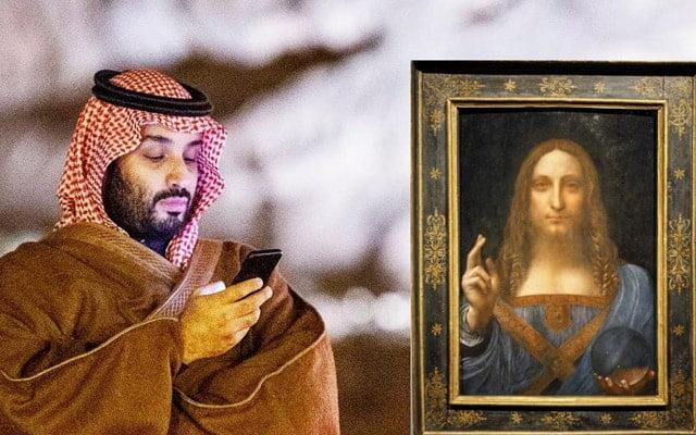 Putera Mahkota Arab Saudi kantoi kena 'scam' beli lukisan palsu dengan nilai RM2 bilion