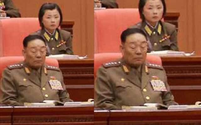 Menteri dari Korea Utara dihukum tembak kerana tertidur