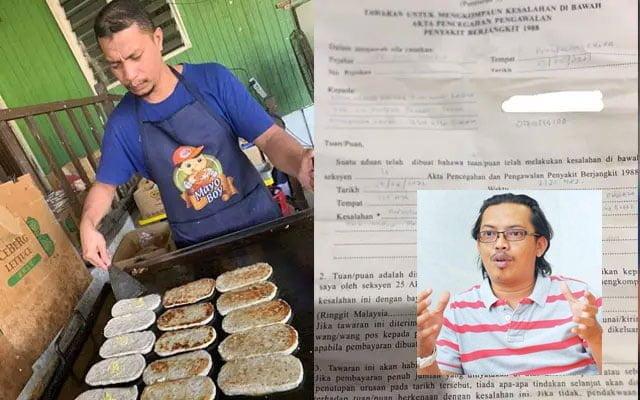 Peguam pertikai jumlah kompaun RM50,000 dikenakan terhadap peniaga burger