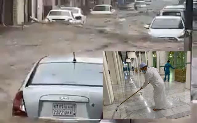 Makkah dilanda banjir akibat hujan lebat, amaran ribut petir dikeluarkan