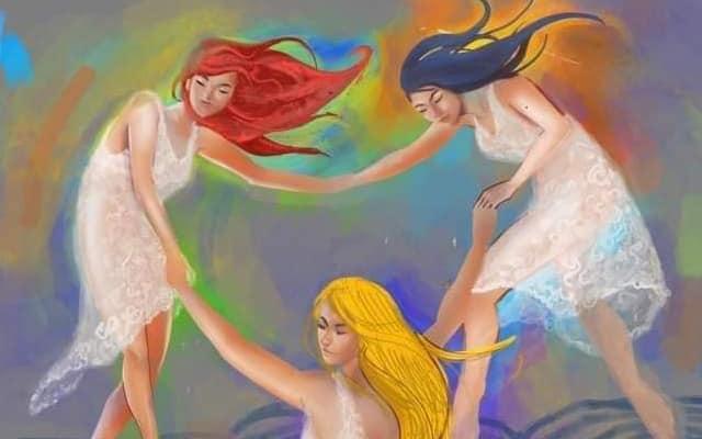 Mural wanita 'bogel' kini dah pakai baju