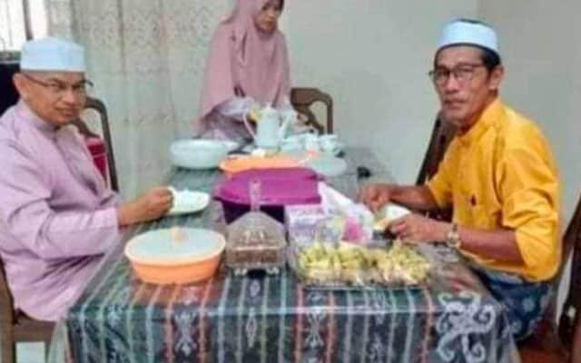 Terima tetamu di pagi raya, Exco Pas Terengganu langgar SOP?