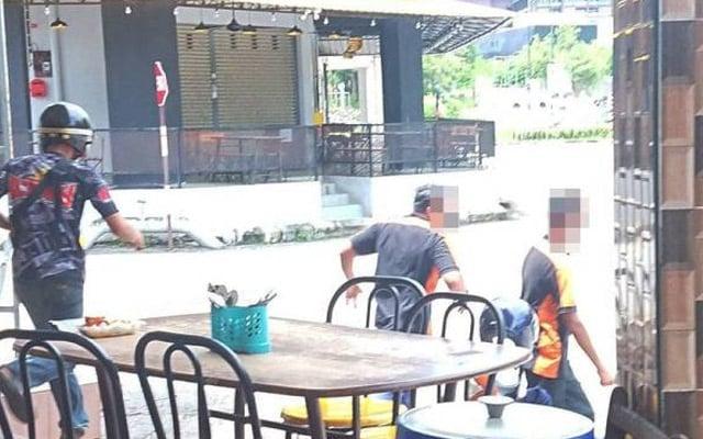 Geng 'Yak Yak Yeay' lari lintang pukang disergah penguatkuasa