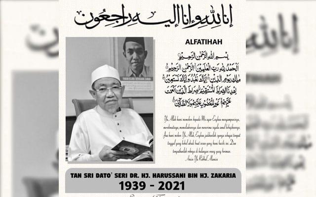 Mufti Perak meninggal dunia