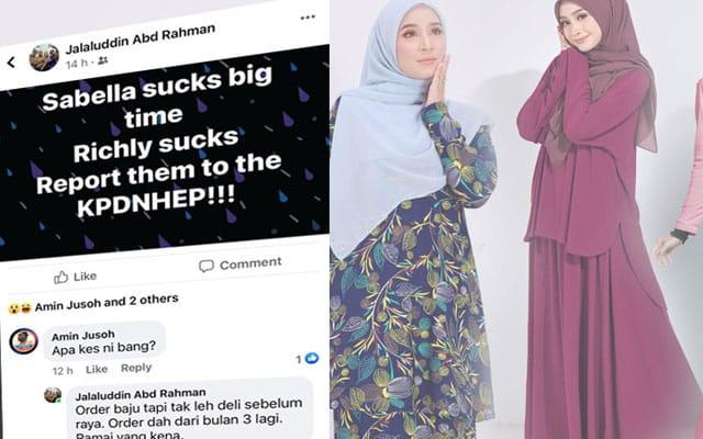 2 bulan order baju 'tak payah gosok' tak sampai2, netizen mula mengamuk