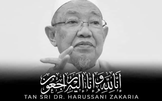 'Maafkan saya Tan Sri Dr Harussani', kata bekas ahli Pas