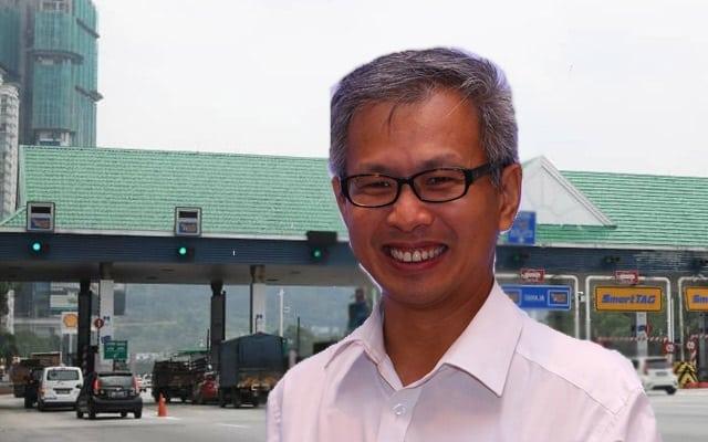 Tony Pua dedah teknik asal PH untuk mansuh tol secara berperingkat