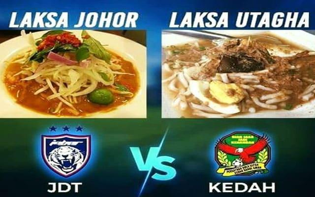 Kecoh di media sosial 'pertempuran' Laksa Johor vs Laksa Kedah