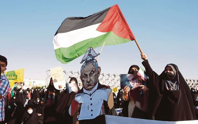 Kilang senjata Israel 'ditawan' aktivis Palestin