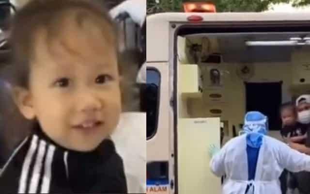 [Video] Anak kecil di pusat kuarantin menangis nak balik, hati ibu mana tak sayu