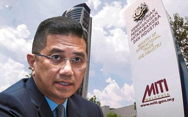 Gempar !!! 95,142 syarikat dapat kebenaran MITI untuk beroperasi sepanjang 'lockdown'