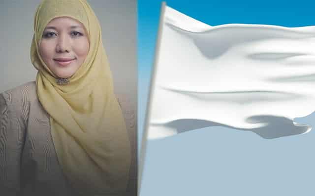 Siapa mulakan kempen kibar bendera putih?
