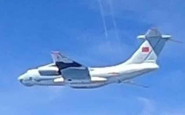 Hanya latihan penerbangan biasa, kata Kedutaan Besar China