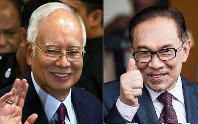 Panas !!! Mengapa tak serang Anwar?, Ini jawapan Najib