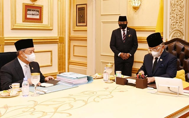 Perjumpaan dengan Muhyiddin hanya rutin biasa kerajaan – Istana Negara