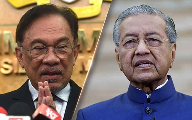 Panas !!! Mahathir akan lakukan apa saja demi pastikan Anwar tidak jadi PM