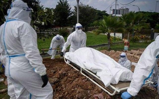 Kes kematian yang perlu dibimbangi, bukan kes positif