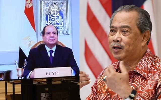 Muhyiddin adakan perbincangan dengan Abdel Fattah Al Sisi, fokus kerjasama dua hala Malaysia-Mesir