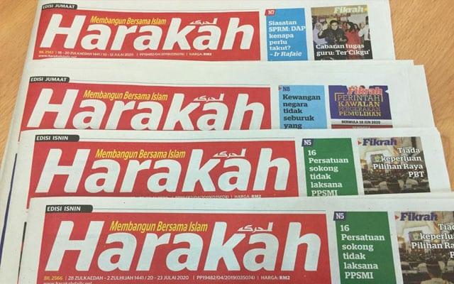 Berjuta ahli Pas, takkan tak de sorang yang cerdik boleh jaga Harakah?, tanya netizen