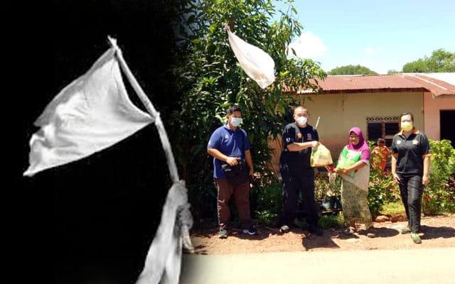 11 keluarga kibar bendera putih, seminggu terputus bekalan makanan