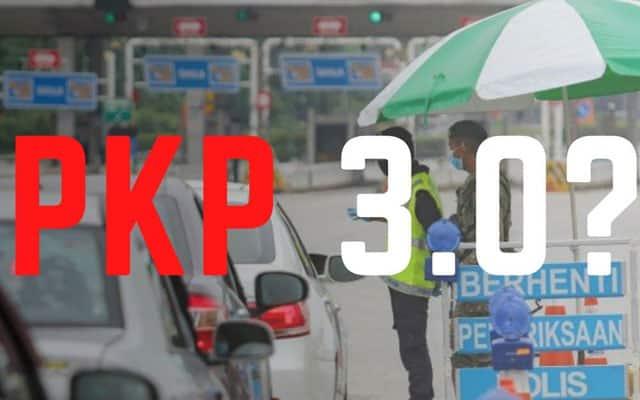 Panas !!! PKP 3.0 hanya akan dikaji semula jika kes sudah turun bawah 4,000