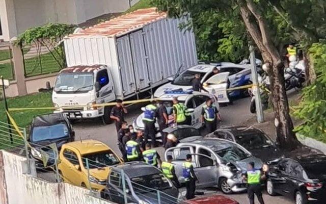 [VIDEO} Aksi kejar mengejar Polis dengan tokan dadah sejauh 6 km