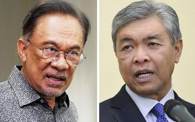 Gempar !!! Portal pro Azmin dakwa Anwar-Zahid rancang jatuhkan kerajaan PN