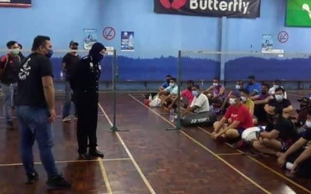 Padah main badminton, 32 individu dikompaun berjumlah RM48,500