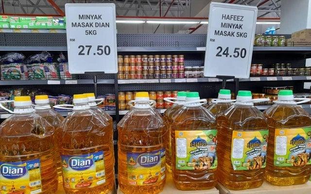 Menteri perjelas punca harga minyak masak naik, hanya pek 1kg ada subsidi dari kerajaan