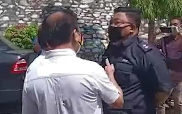 Inspektor Azri steady walau di'provok', netizen puji
