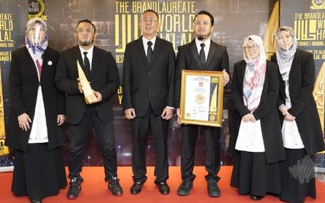 Pengurusan sistematik dan profesional, EZ Qurban terima Anugerah Jenama Halal Terbaik Dunia