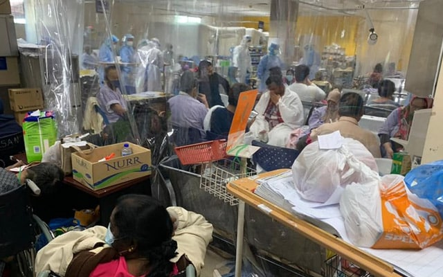 Mengapa perlu nafi? Realiti situasi di hospital Lembah Klang memang kritikal