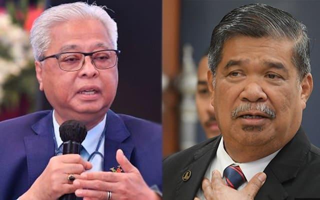 Mesyuarat Umno di Wisma Perwira, beza sungguh Ismail Sabri dengan Mat Sabu – Netizen