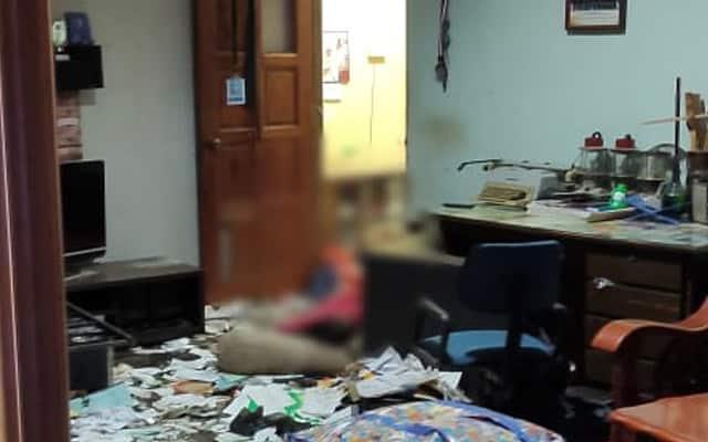 Libas parang kearah polis, lelaki ditembak mati di Perlis