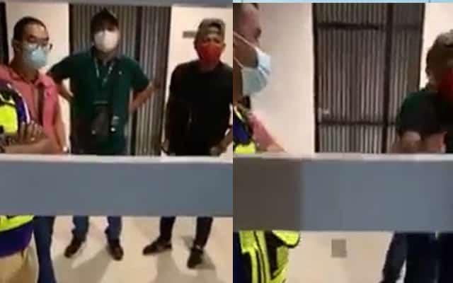 Bimbang 'penyamar' Polis datang rumah 2 pagi, perempuan ini buat live stream