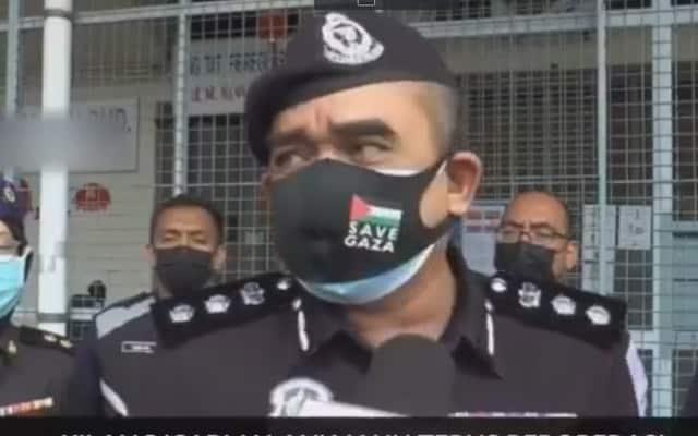 Video tular 'hentam' PH, Ketua Polis dakwa suara diedit