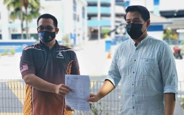 Pemuda Amanah buat laporan polis kes nikah online Timb Menteri