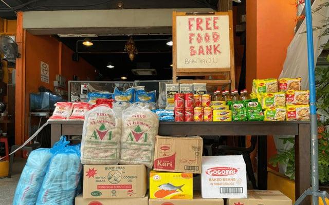 Anjur 'Food Bank' tanpa kebenaran, restoran dilapor Polis