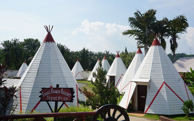 Pengendali Resort pula kibar bendera putih