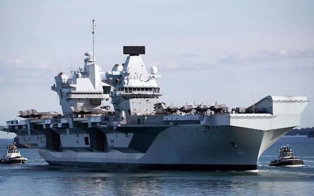 Britain kerah armada gempur ke Jepun, beri amaran kepada China