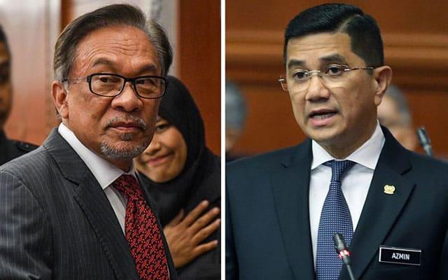 Panas !!! Anwar dan Azmin bertikam lidah di Parlimen
