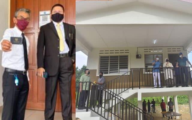 Lelaki terkejut dapat kunci rumah dari Agong