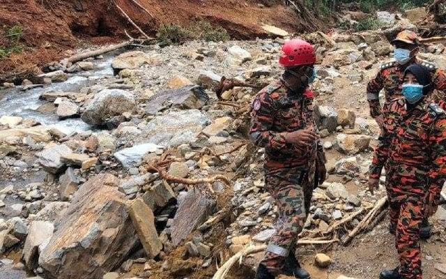 Tragedi Gunung Jerai : Anjing bomba berjaya hidu 'sesuatu'