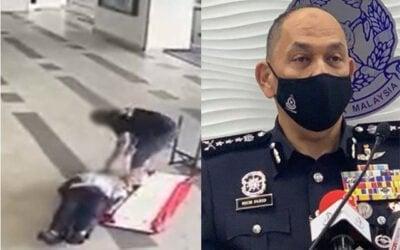 Polis dedah suspek insiden pukul Pak Guard adalah pemimpin parti Bersatu