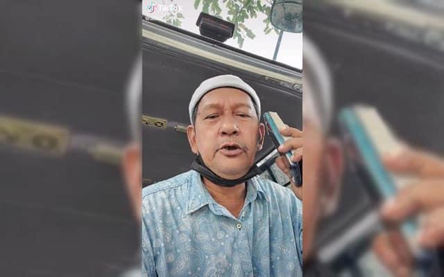 Aksi Pak Cik ni pesan 'janda' gigi penuh di Shopee bikin netizen kecoh