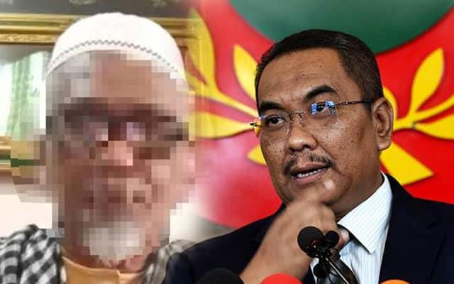 Hina MB Kedah : Warga emas ditahan Polis