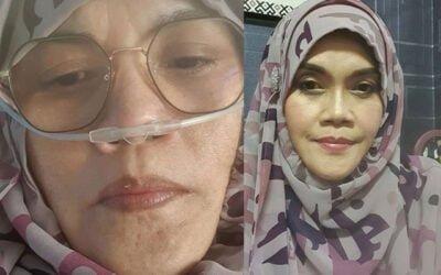 Aishah mohon doa dari semua, paras oksigen tak menentu