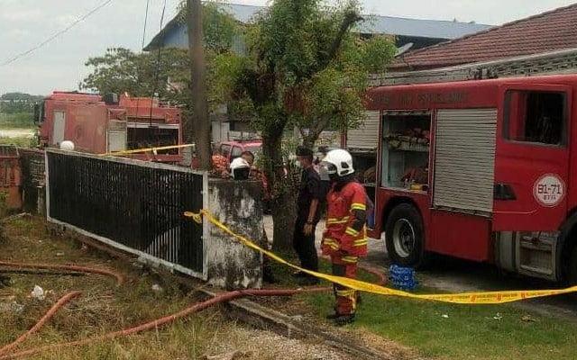 Rumah terbakar : Remaja 19 tahun maut, adik 3 tahun cedera